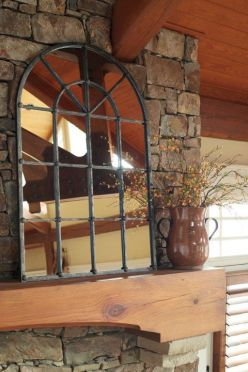 Arched Window-Style Mirror