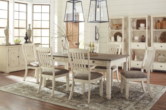 Bolanburg Dining Room, Table and Six Chairs