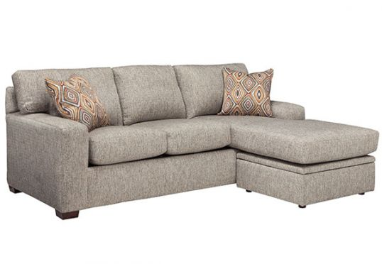 Desiree Stone Queen Sleeper with Chaise