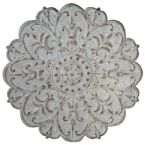 Grey Wash Wall Medallion
