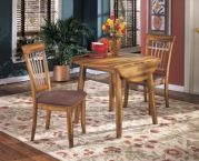 Beringer Drop-leaf Table with side chairs
