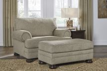 Kananwood Chair & 1/2 and Ottoman