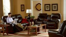 Bodie Reclining Console Loveseat