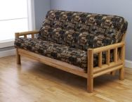 Lodge Natural Finish Futon Full Size