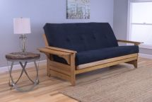 Phoenix Butternut Finish Futon Full Size